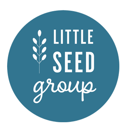 Little Seed Group logo with white circles