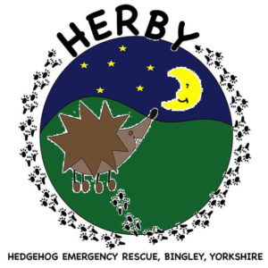 Hedgehog Emergency Rescue, Bingley logo