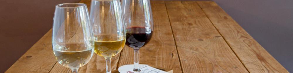 Pairings Wine Bar image of three wine glasses