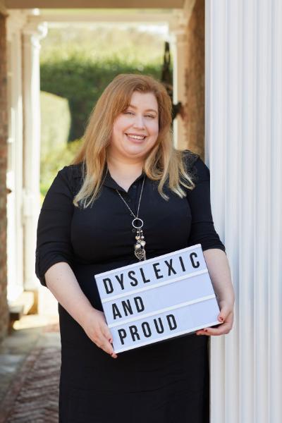 Picture of Ellen Cole a public speaker on dyslexia topics